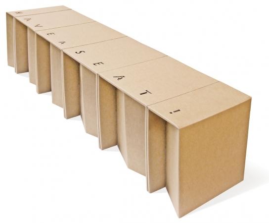 Etcetera design il tuo shop mobili e complementi d 39 arredo in cartone design ecosostenibile - Mobili in cartone design ...